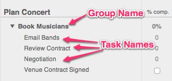 Gantt Chart Example Details 1