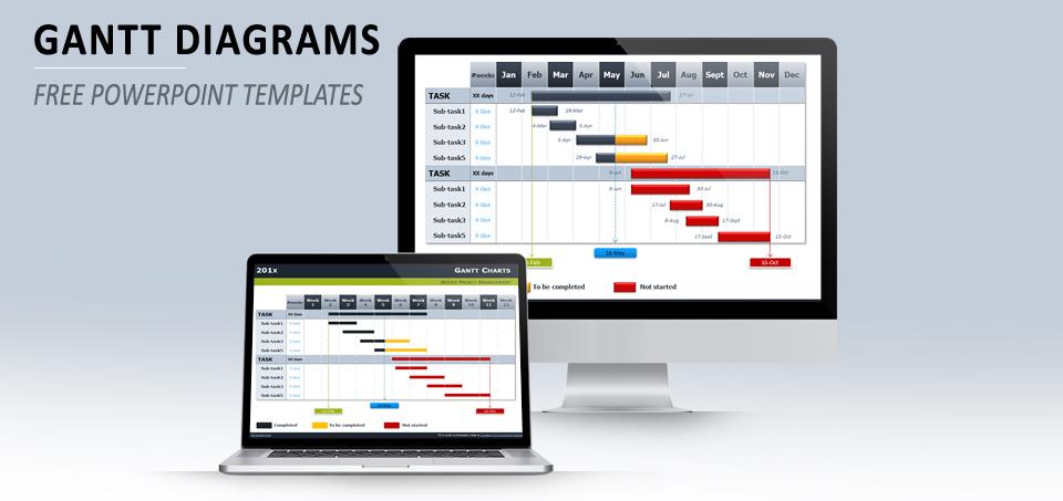 gantt-charts-diagram-powerpoint