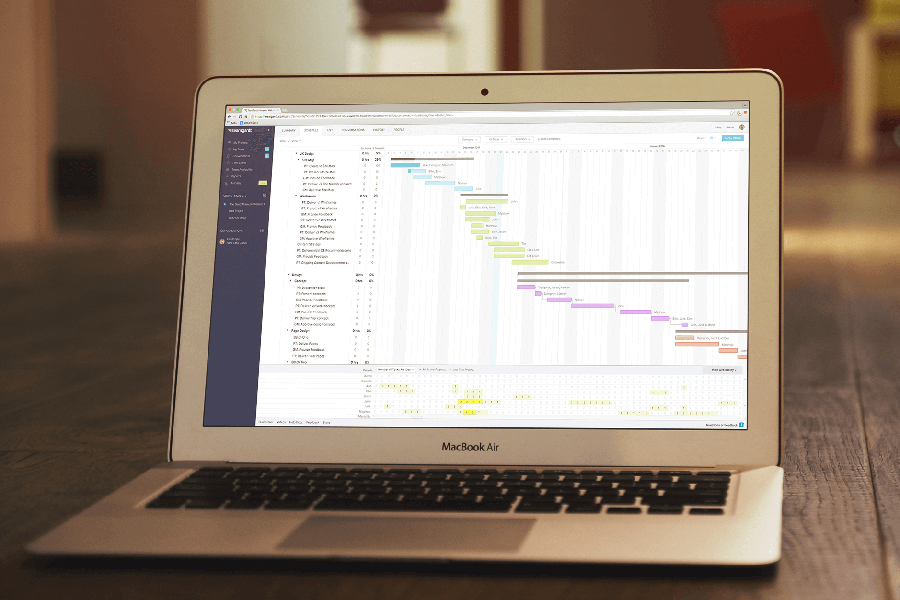 TeamGantt-Gantt Chart Software